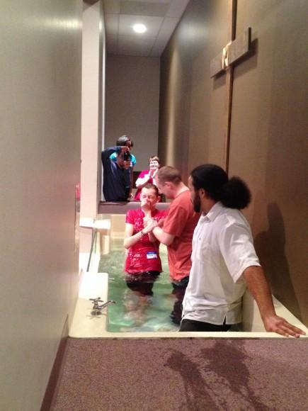 Elaina Baptized